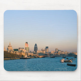 Skyline at Sunset Mouse Pad