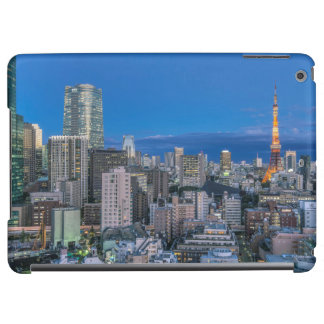 Skyline at twilight iPad air case
