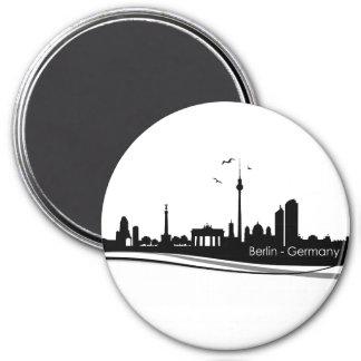 Skyline Berlin 7.5 Cm Round Magnet