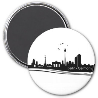 Skyline Berlin Magnet
