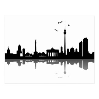 Skyline Berlin Postcard