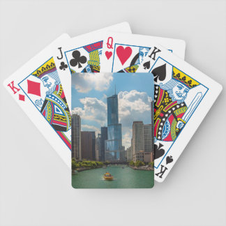 Skyline Chicago Bicycle Playing Cards