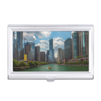Skyline Chicago Business Card Holder