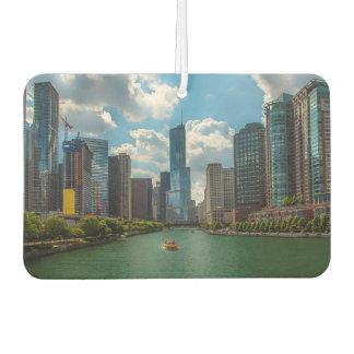 Skyline Chicago Car Air Freshener