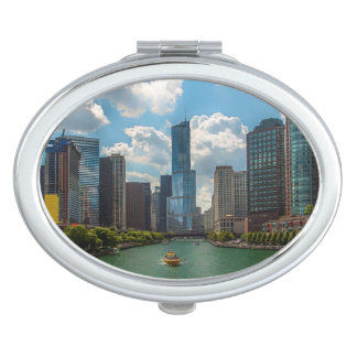 Skyline Chicago Compact Mirror