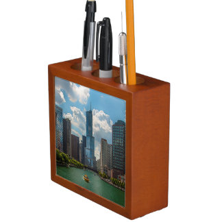 Skyline Chicago Desk Organiser