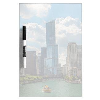 Skyline Chicago Dry Erase Board