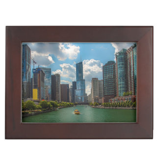 Skyline Chicago Keepsake Box