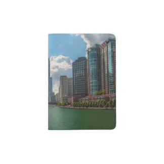 Skyline Chicago Passport Holder