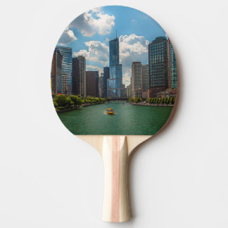 Skyline Chicago Ping Pong Paddle