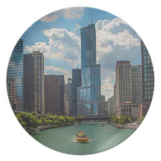 Skyline Chicago Plate
