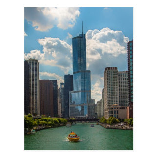 Skyline Chicago Postcard