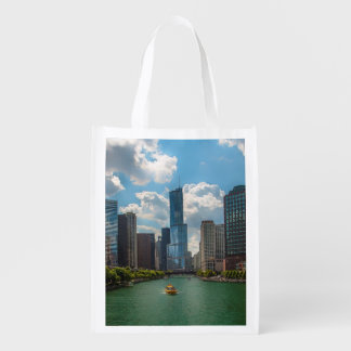 Skyline Chicago Reusable Grocery Bag
