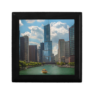 Skyline Chicago Small Square Gift Box