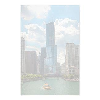 Skyline Chicago Stationery