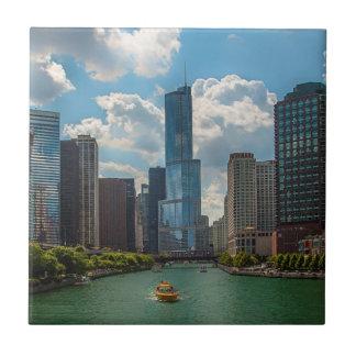 Skyline Chicago Tile