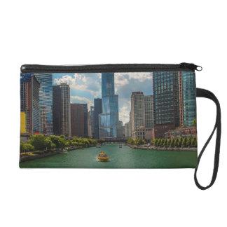 Skyline Chicago Wristlet