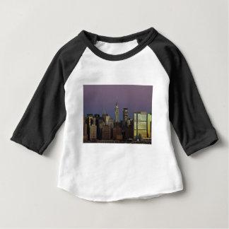 Skyline City Manhattan New York Baby T-Shirt