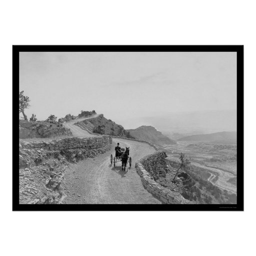 Skyline Drive Canon City, CO 1912 Poster