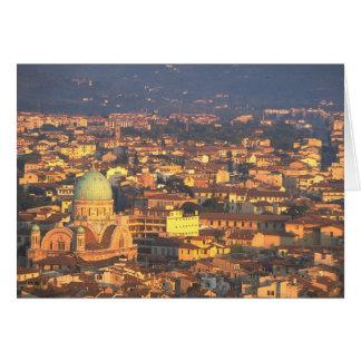Skyline Florence Italy Card