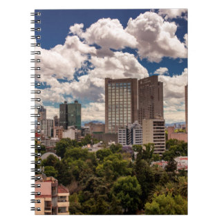 Skyline From The Hotels In Polanco Mexico City Notebooks