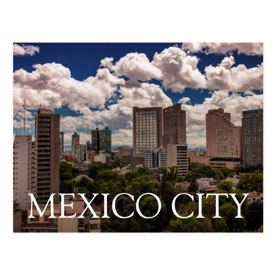 Skyline From The Hotels In Polanco Mexico City