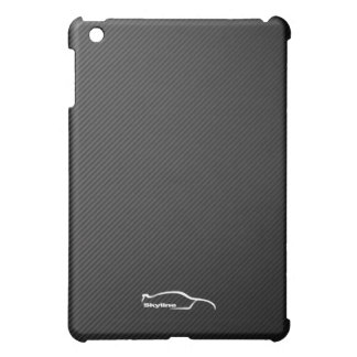 Skyline GT-R white silhouette logo iPad Mini Cover