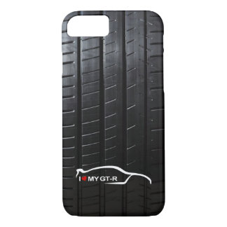 Skyline GT-R with Tire Tread iPhone 7 Case