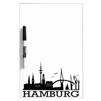 Skyline Hamburg Dry Erase Board