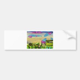 skyline in brighton bumper sticker