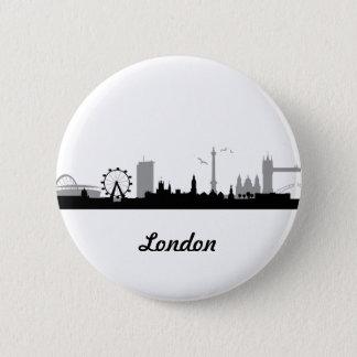 Skyline London 6 Cm Round Badge