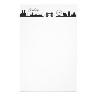 Skyline London Customized Stationery