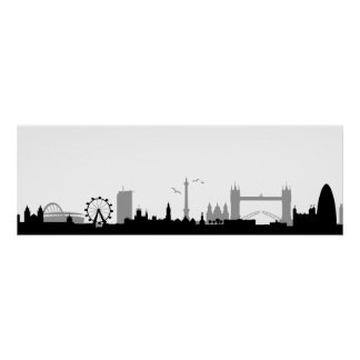 Skyline London Print