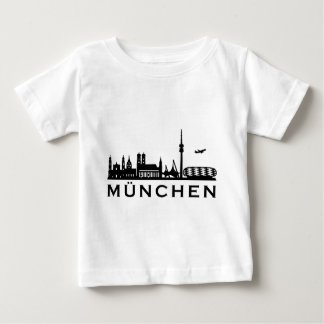 Skyline Munich Baby T-Shirt