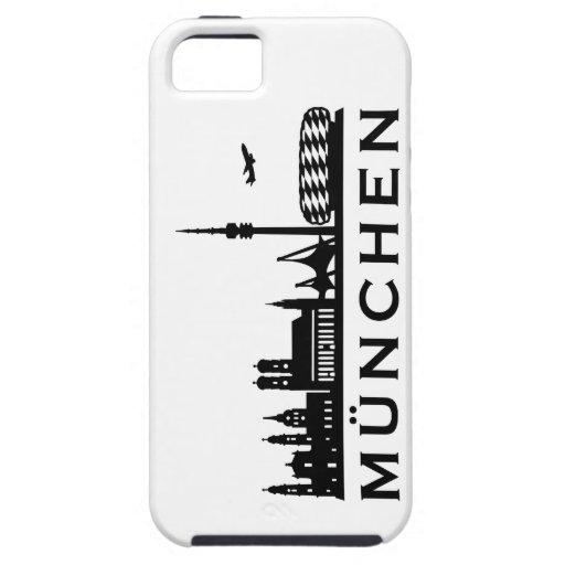 Skyline Munich iPhone 5 Cases