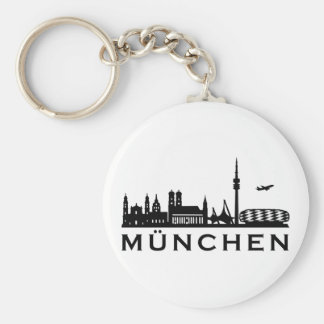 Skyline Munich Key Ring
