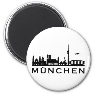 Skyline Munich Magnet