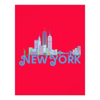 Skyline New York Custom Flyer