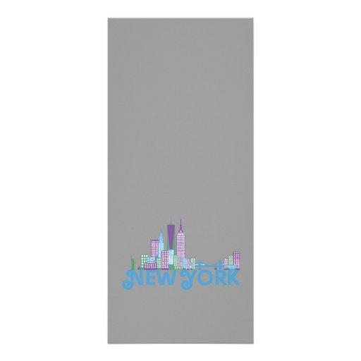 Skyline New York Rack Card