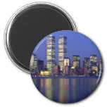Skyline New York with World Trade Centre Fridge Magnets
