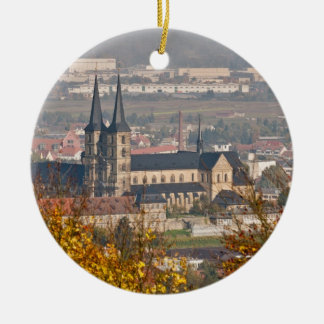 Skyline of Bamberg, Germany Christmas Ornament