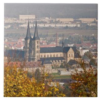 Skyline of Bamberg, Germany Tile
