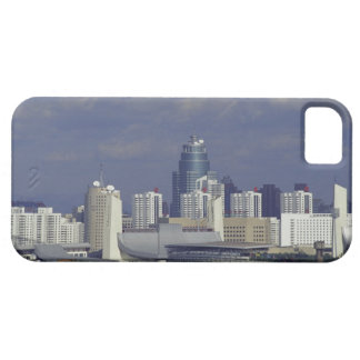 Skyline of Beijing, China iPhone 5 Cases