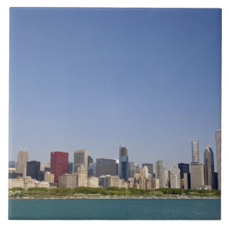 Skyline of Chicago, Illinois, USA. Tile