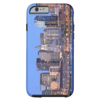 Skyline of downtown Boston from inner Boston Tough iPhone 6 Case