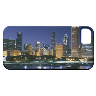 Skyline of Downtown Chicago at night Barely There iPhone 5 Case