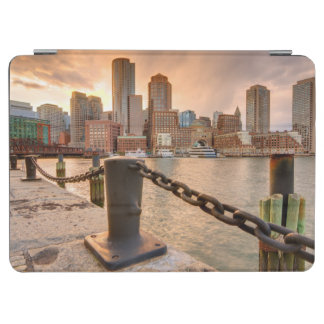 Skyline of Financial District of Boston iPad Air Cover