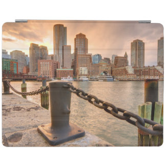Skyline of Financial District of Boston iPad Cover