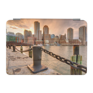 Skyline of Financial District of Boston iPad Mini Cover