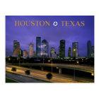 Skyline of Houston, Texas at dusk Postcard